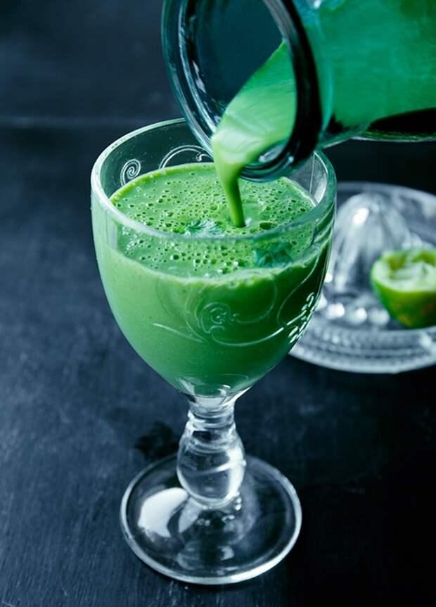 Рецепт зеленых смузи