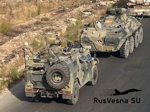 Сирия: турецкие войска бросают свои базы и уходят к террористам под конвоем армии России (ФОТО, ВИДЕО)