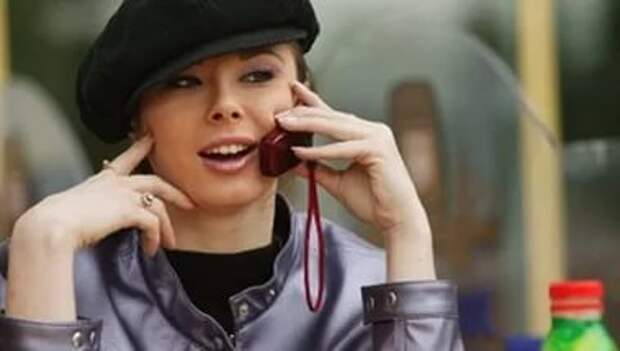 У меня зазвонил телефон... Улыбнемся...