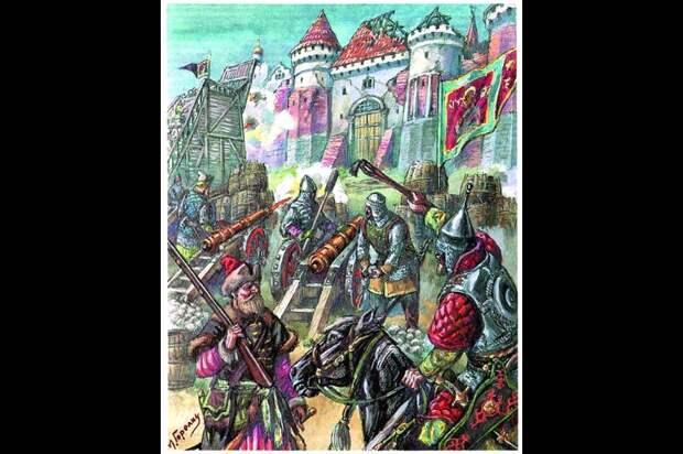 Осада Смоленска русскими войсками в 1514 году.