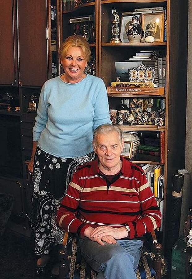Наталья Селезнёва и Владимир Андреев. / Фото: www.womanhit.ru