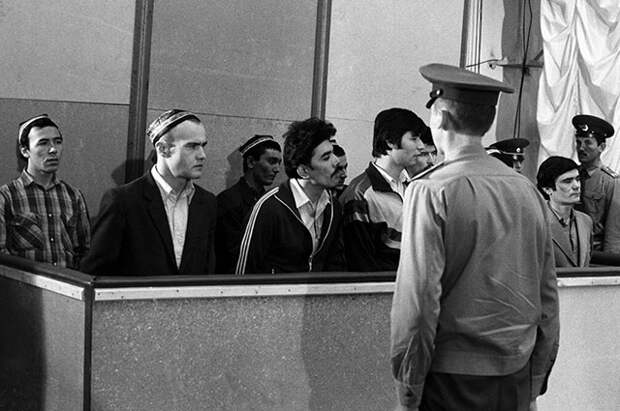 Суд над погромщиками. Июль 1989 г.