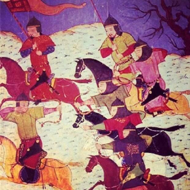 """Описание западного похода монголов в """"Сборнике летописей"""" Рашид-ад-дина."""