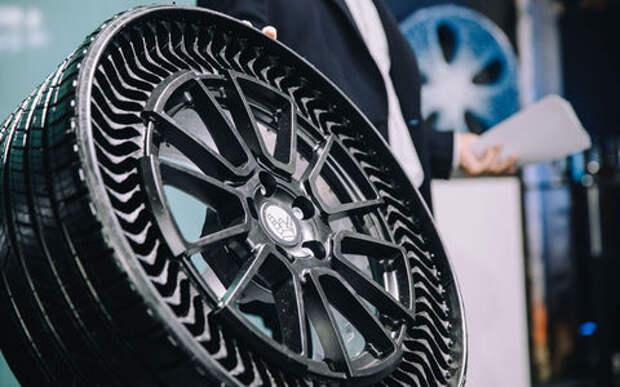 GM и Мишлен переходят на безвоздушные шины