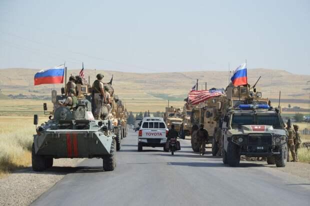 РВ: в Сирии русский офицер по-хорошему предупредил военных США