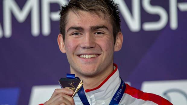 Колесников – чемпион Европы на дистанции 50 м на спине, он установил новый мировой рекорд
