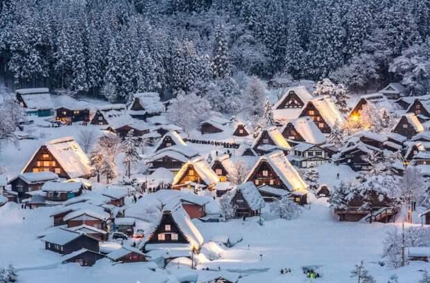 20 уютных деревушек, в которых хочется спрятаться от городской суеты