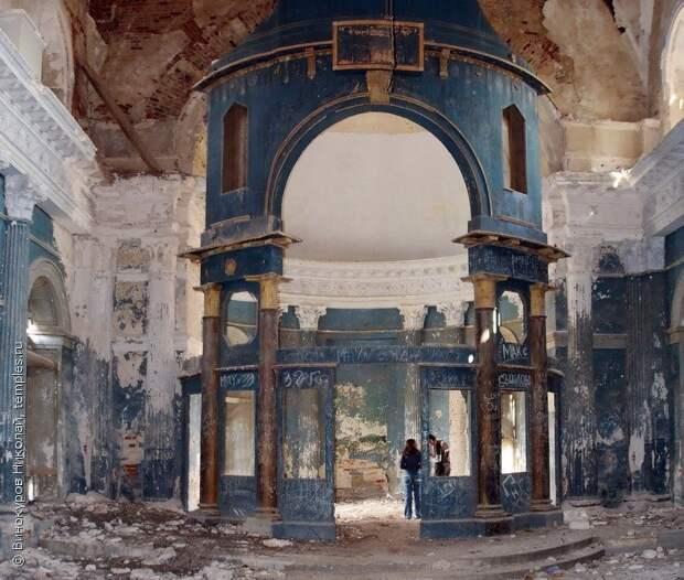 Несчастливый храм в Яропольце