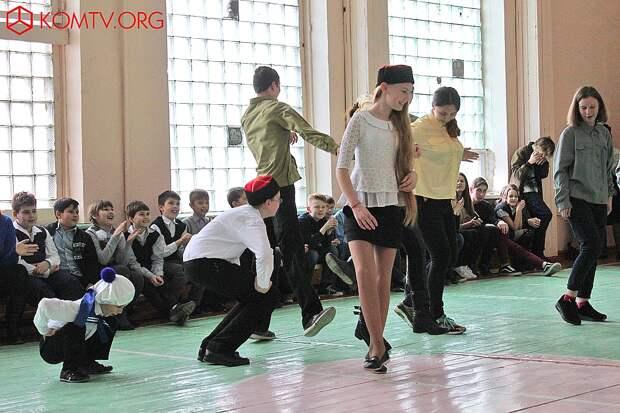 В этом конкурсе у каждого свой танец