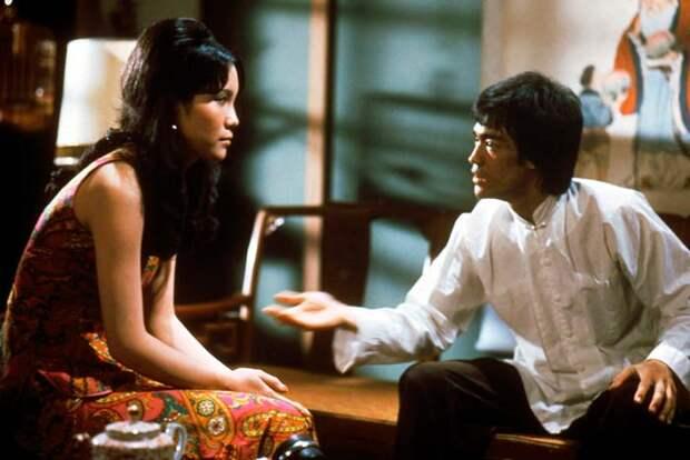 Кадр из фильма «Возвращение дракона».
