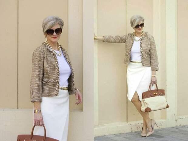Оригинальный и уместный стиль для женщины за сорок: деловая и кэжуал одежда, спортивные костюмы и богемное бохо