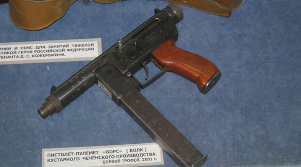 Борз: работа оружейников из Чечни