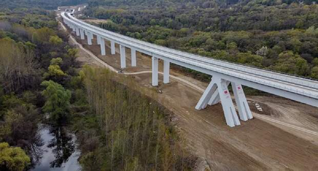«РЖД Интернешнл» на полгода раньше завершила строительство рекордного для Сербии объекта