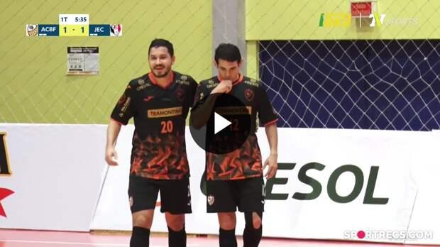 ACBF 5 x 2 Joinville - Melhores Momentos - LNF 2021 (08/05/2021)