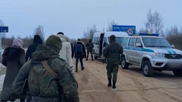 Более 60 иностранцев обвинили в незаконном пересечении границы России