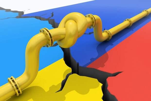 """""""Газпром"""" проводит болевой приём в Европе, используя в качестве рычага украинский транзит."""