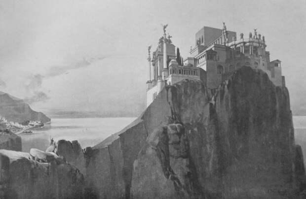 Вилла Юпитера. Реконструкция К. Вейнхардта, 1900 г.   Фото: upload.wikimedia.org.