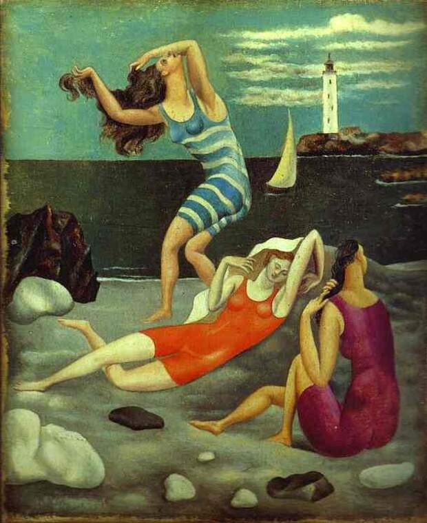 Pablo Picasso — The Bathers, 1918