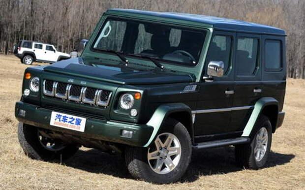 Шокирующие дубли: самые бессовестные автомобили-«клоны» из Китая