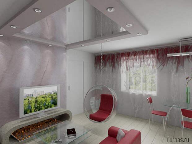 Шикарные идеи зонирования комнаты на спальню и гостиную