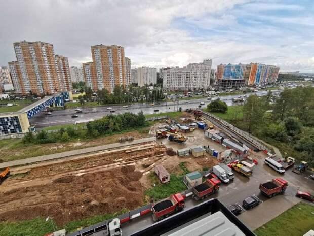 К строящейся станции «Физтех» организуют заезд с Дмитровского