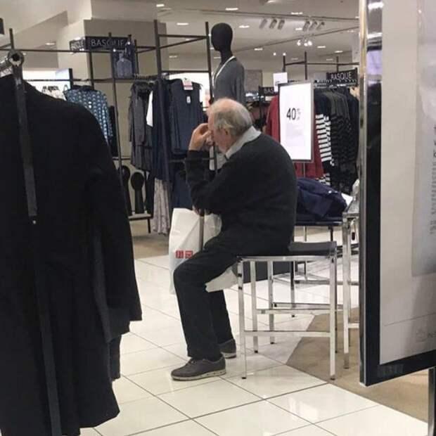 Невинные жертвы безудержного шоппинга