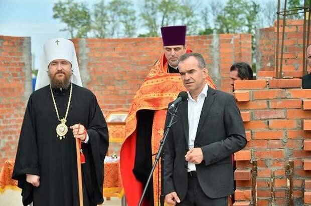 В центре «Патриот» в Динском районе построят новый храм