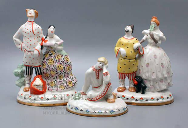 Продажа фарфора из Вербилок в магазине антиквариата Лавка Старины