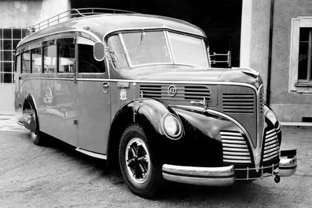 Alfa Romeo 500 Varesina автобус, автодизайн, дизайн