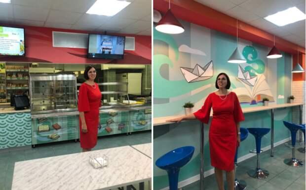 В учебном корпусе «Дубровка» открыли школьный ресторан