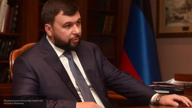 Пушилин рассказал, какую помощь Россия оказала ДНР в борьбе с коронавирусом