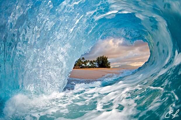 ФОТОВЫСТАВКА. Clark Little: красота волн