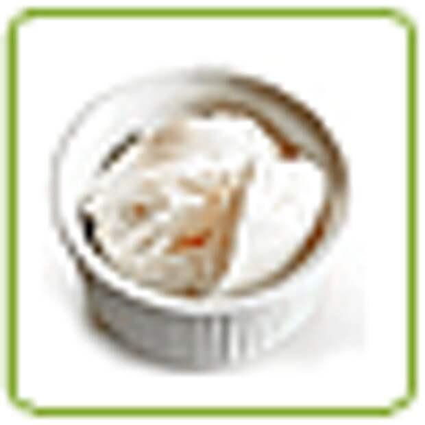 Приготовление закуски из черешкового сельдерея с сыром и орехами