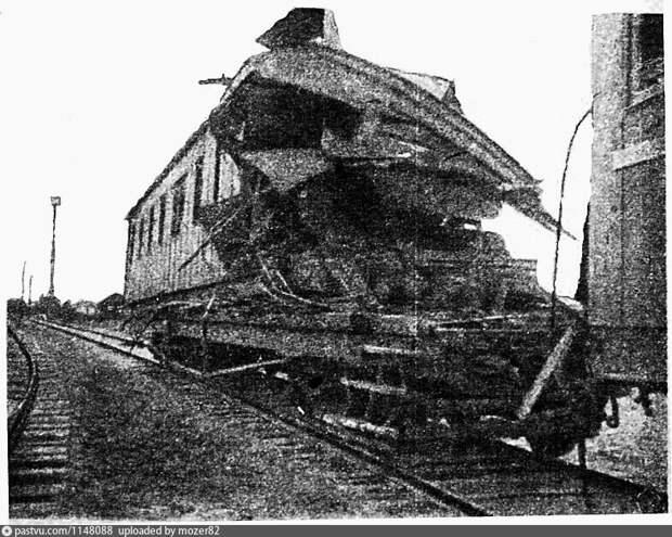 Фокус истории: в 1930 году на станции Перерва столкнулись два поезда