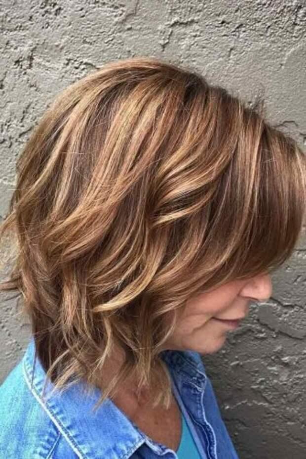 Cтрижки на средние волосы для женщин за 50+, которые сделают вас моложе и красивее
