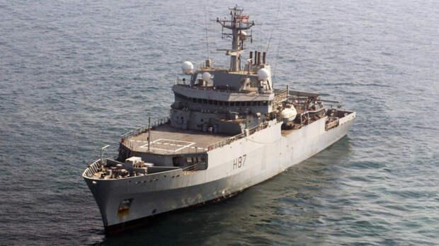 «Русские смеются»: визит британского патрульного корабля в Черное море поверг в недоумение иностранцев