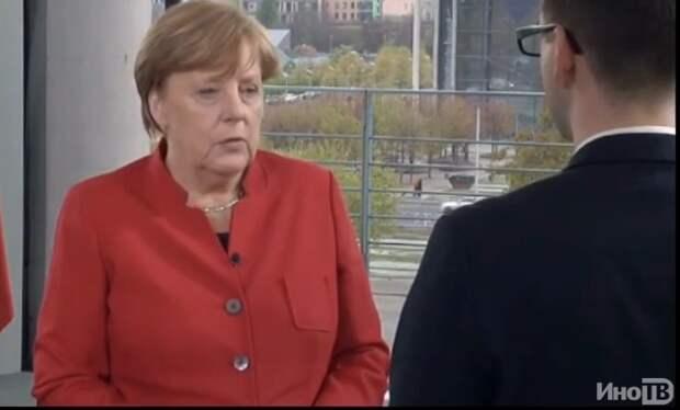 Меркель: в отношениях с Россией диалог и демонстрация силы — верный путь