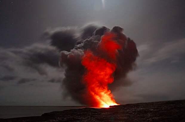 Извержение вулкана могло вынудить египтян покинуть древний город у моря