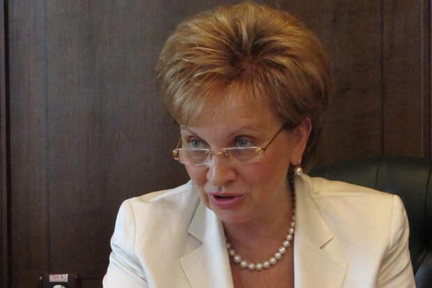 Егорова уйдёт с поста председателя Мосгорсуда