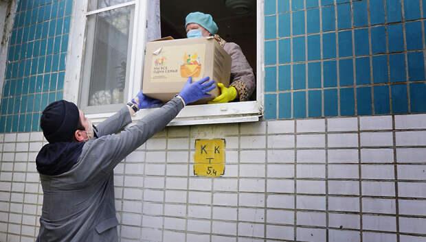 Воробьев поблагодарил волонтеров Подмосковья за работу во время пандемии Covid‑19