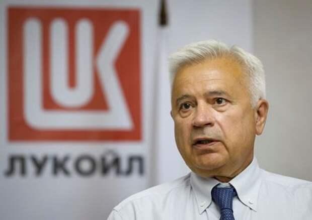 Глава Лукойла, на фото из архива Reuters