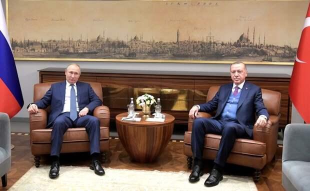 Путин и Эрдоган предложили прекратить огонь в Ливии 12 января