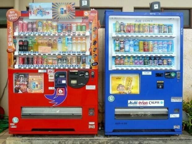 На 23 жителя приходится один торговый автомат