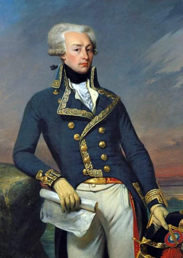 Генерал Жильбер Ла Файет. Годы жизни: 1757-1834