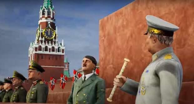 «Гитлер на Красной площади»: украинцам в видеоиграх предлагают переписать Вторую мировую