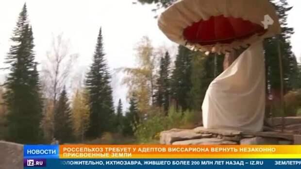 Один из лидеров общины Виссариона получил условный срок из-за патронов