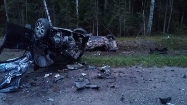 Три человека погибли вДТП вПсковской области