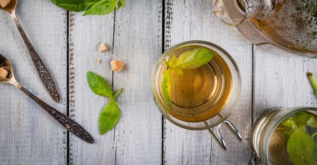 5 весомых причин пить чай с базиликом каждый день!