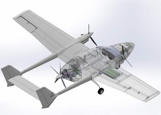 Начались испытания двигательной установки французского гибридного самолета