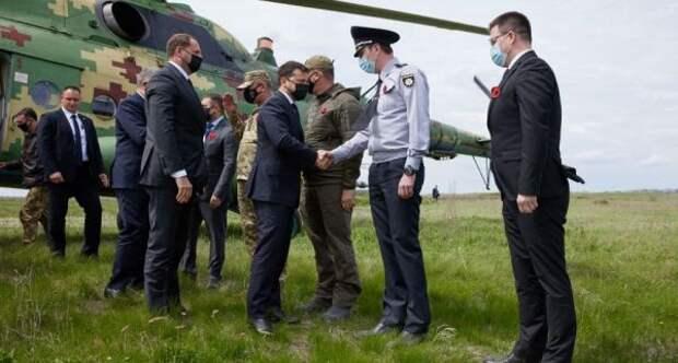 Зеленский спослами стран G7 отправился вЛуганскую область